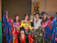 Выступление в Казахстане