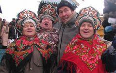 На ярмарке в Москве