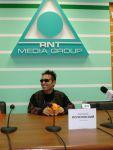 На пресс-конференции в Казахстане