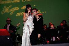 На юбилейном концерте со Светланой Бурылиной (06.12.2009)