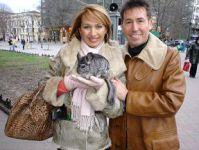 С балериной Леной Громадской в Одессе