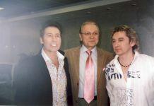 С Юрием Маликовым и Сергеем Беликовым