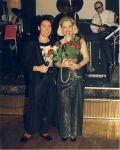 С Ириной Понаровской