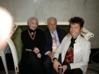 Михаил Танич с супругой и Анатолий Могилевский