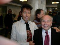 С Владимиром Шаинским