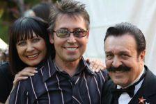 Со Светланой Бурылиной и Вилли Токаревым