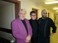 Со Славой Добрыниным и Михаилом Шуфутинским